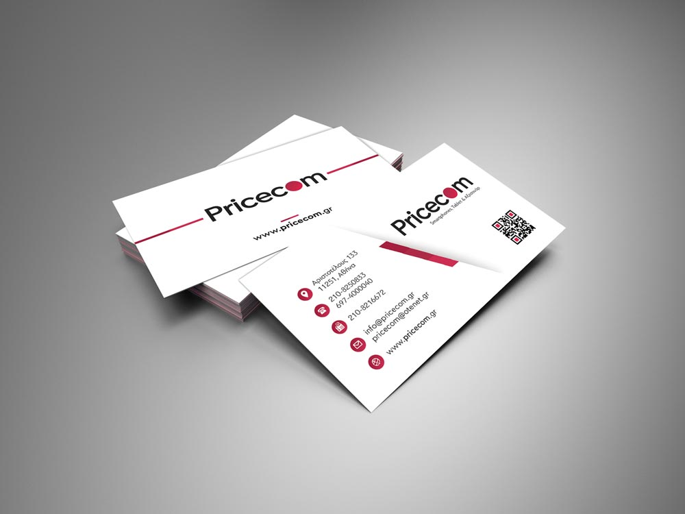 Pricecom Business card