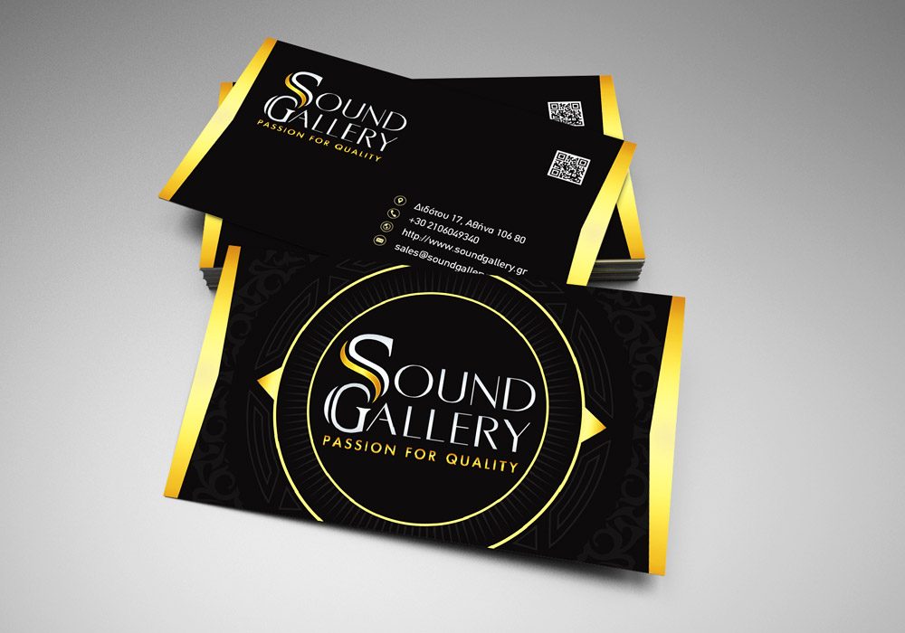 Sound Gallery Business card