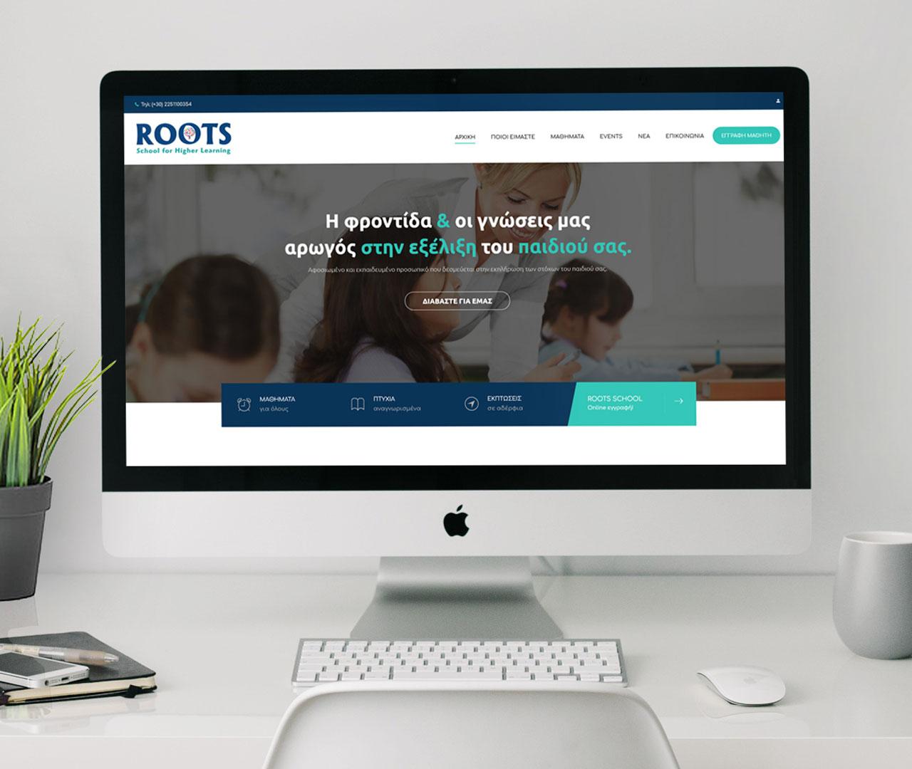 Roots School Website