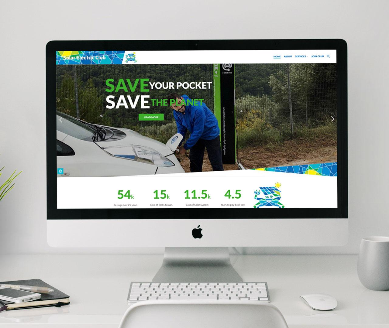 Solar Electric Club Website